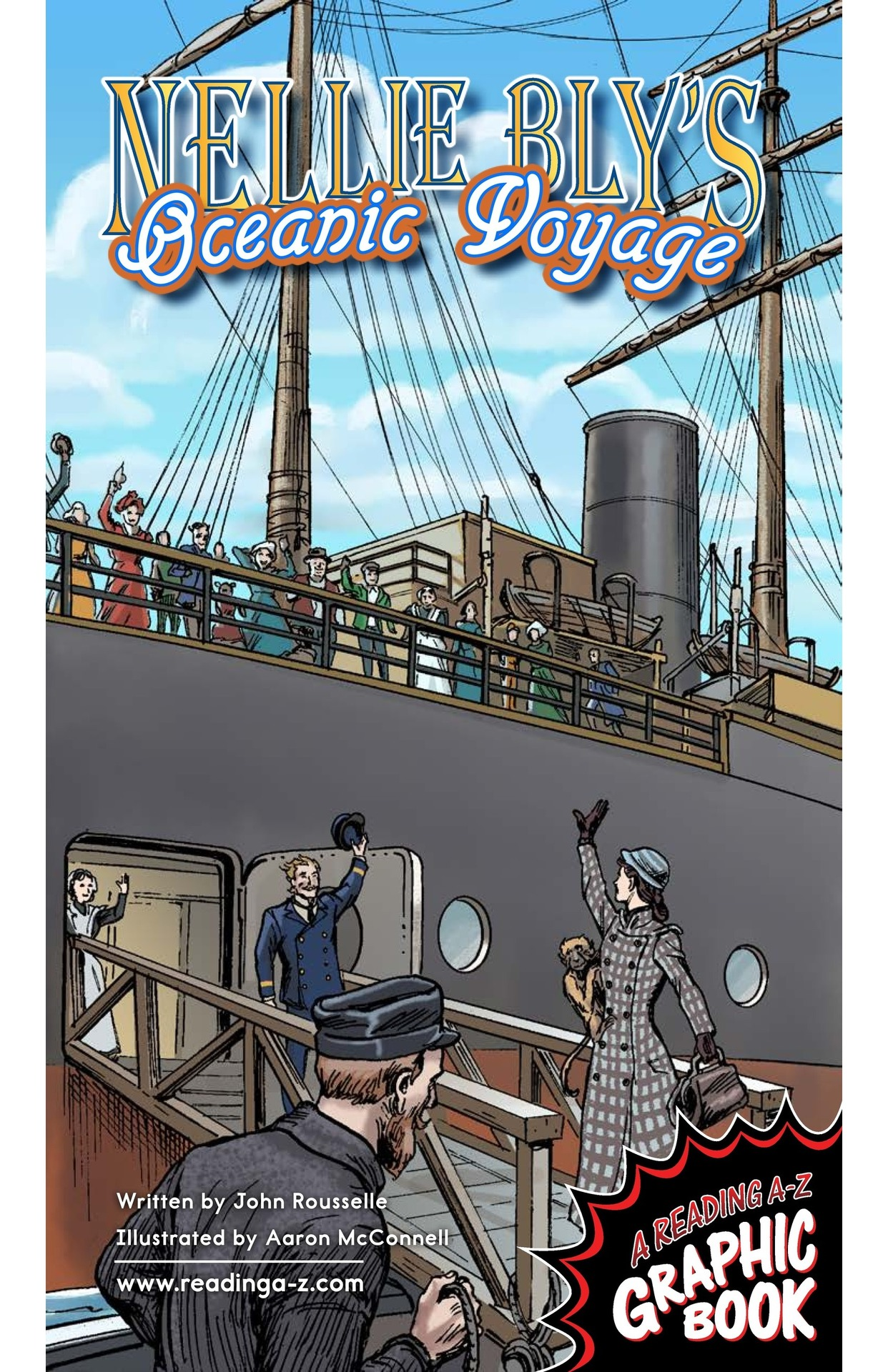 Book Preview For Nellie Bly's Oceanic Voyage Page 1