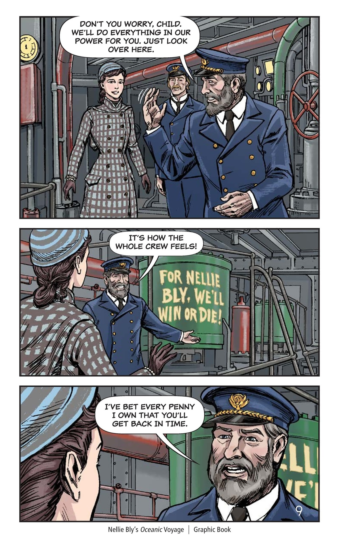 Book Preview For Nellie Bly's Oceanic Voyage Page 10