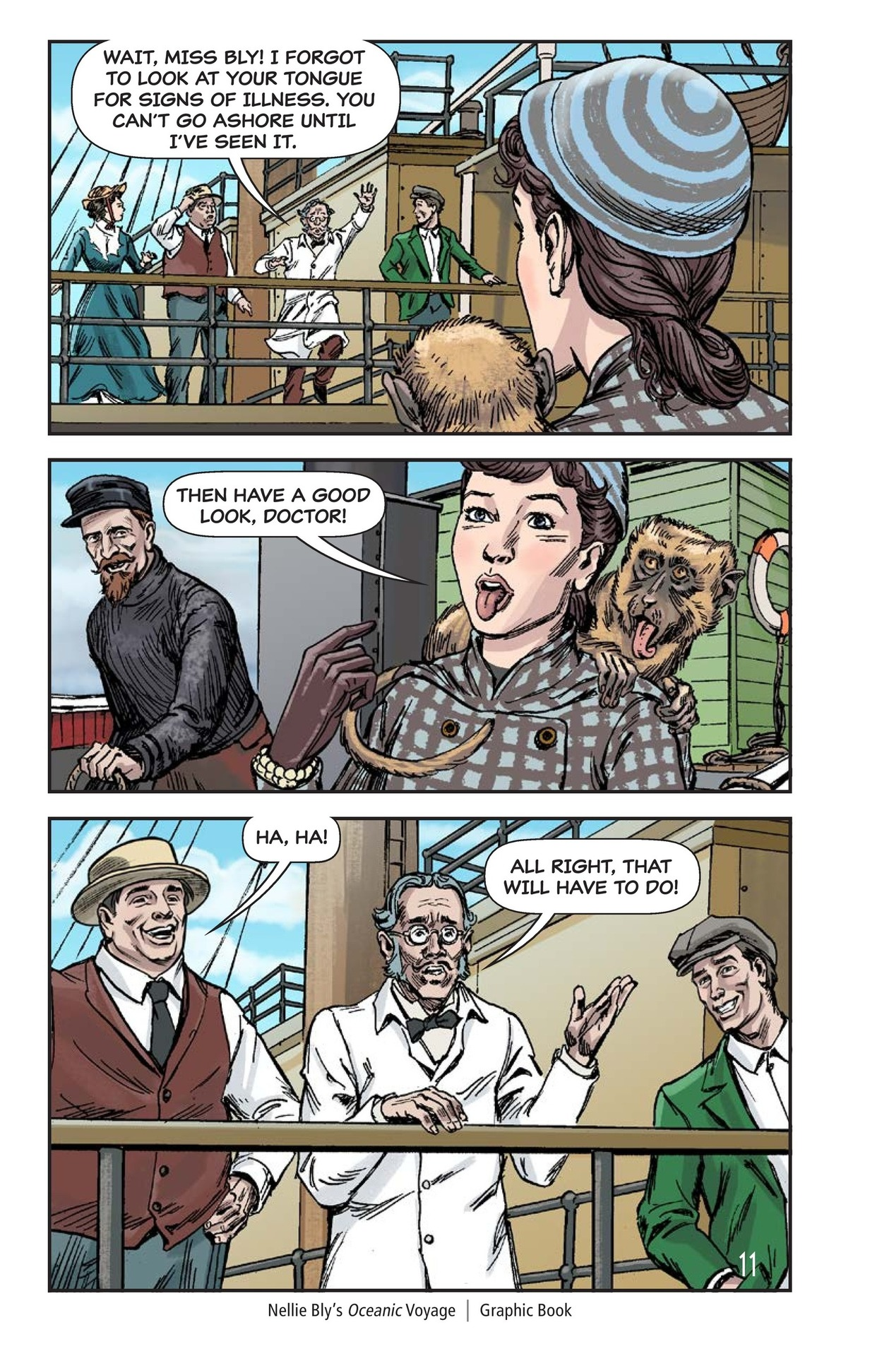 Book Preview For Nellie Bly's Oceanic Voyage Page 12