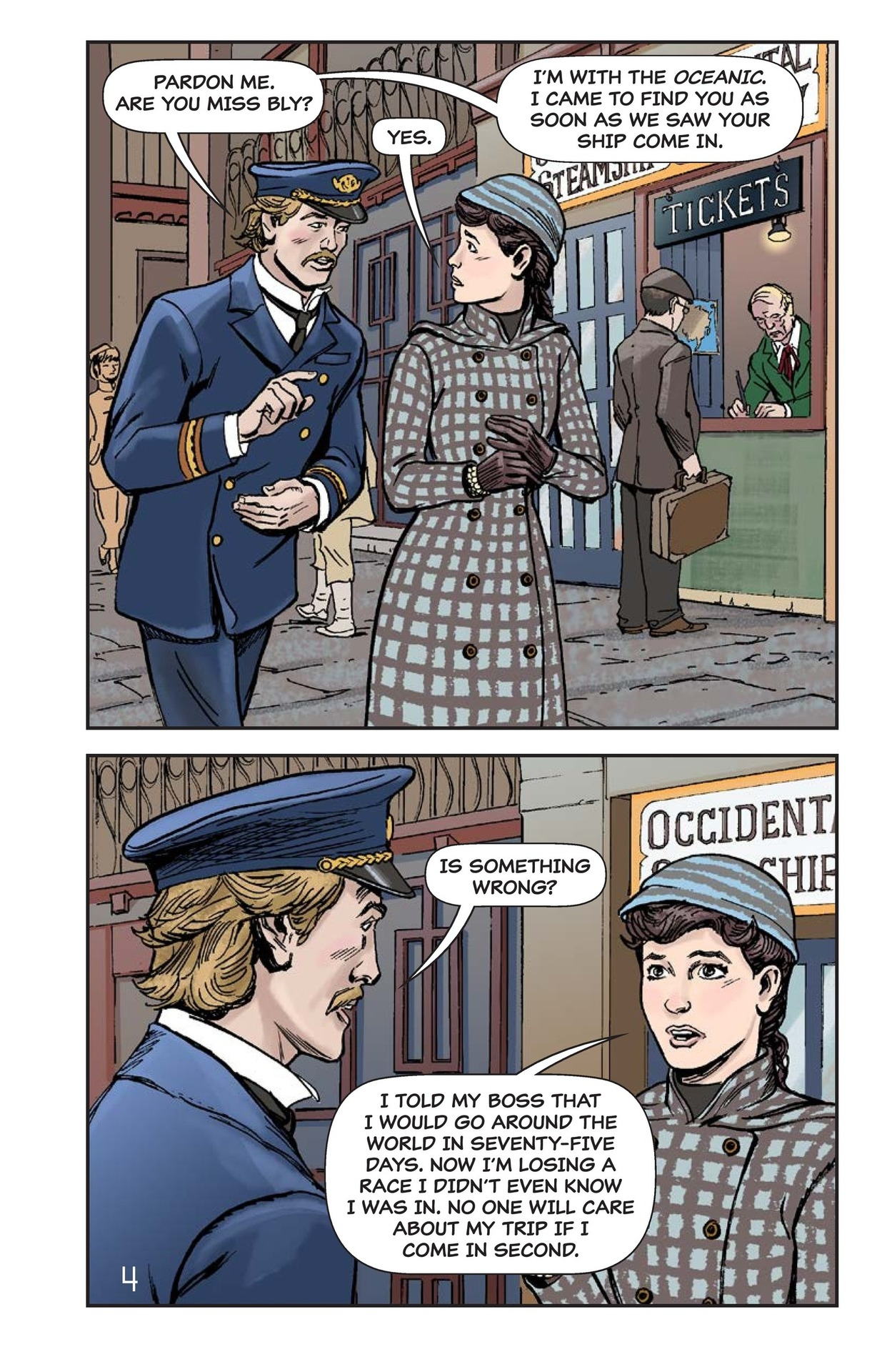 Book Preview For Nellie Bly's Oceanic Voyage Page 5