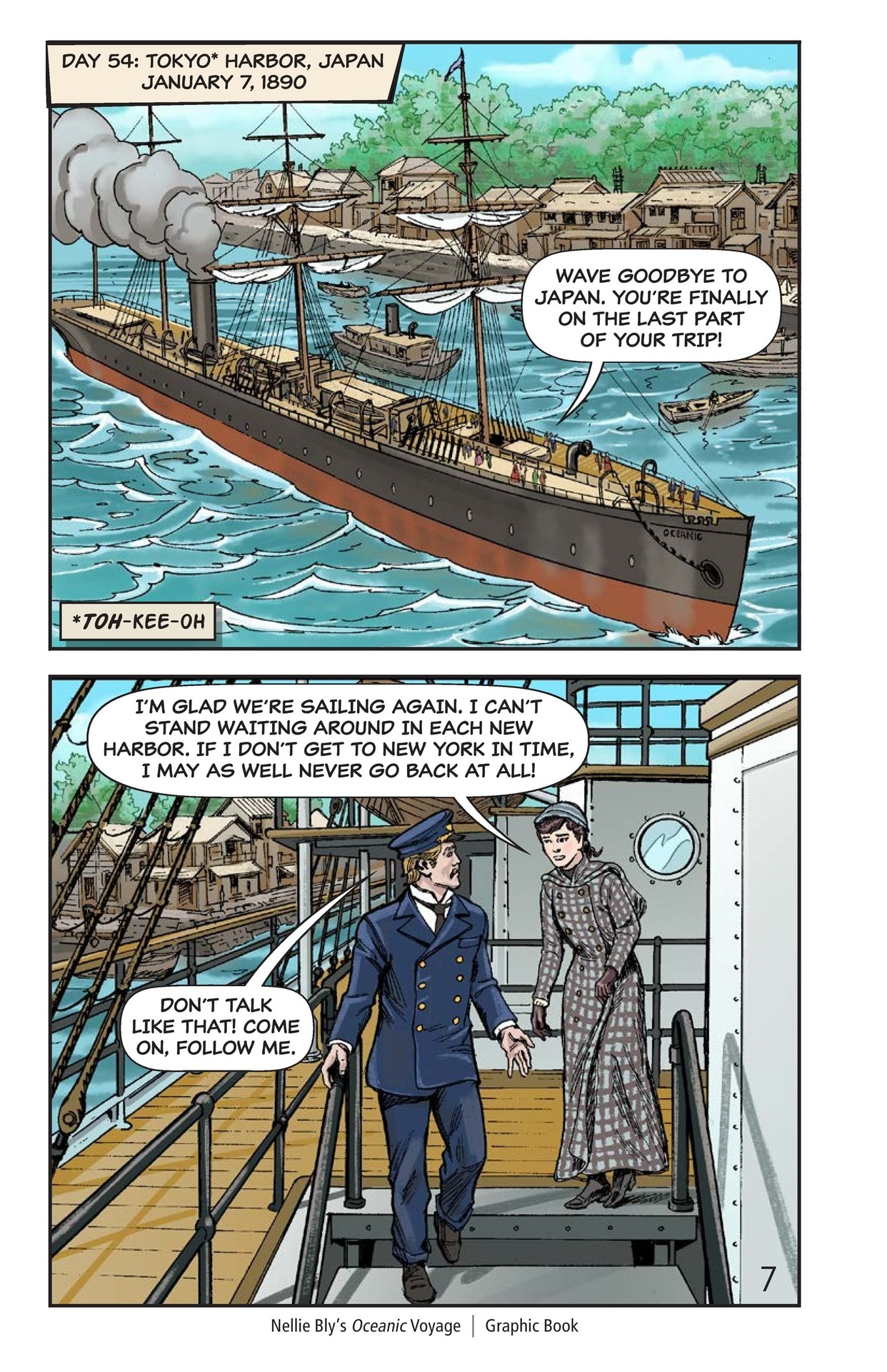 Book Preview For Nellie Bly's Oceanic Voyage Page 8