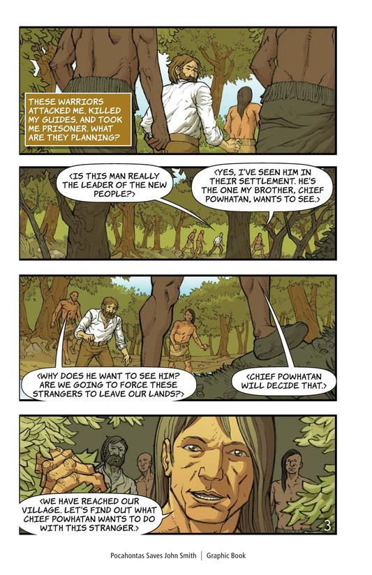 Book Preview For Pocahontas Saves John Smith Page 3
