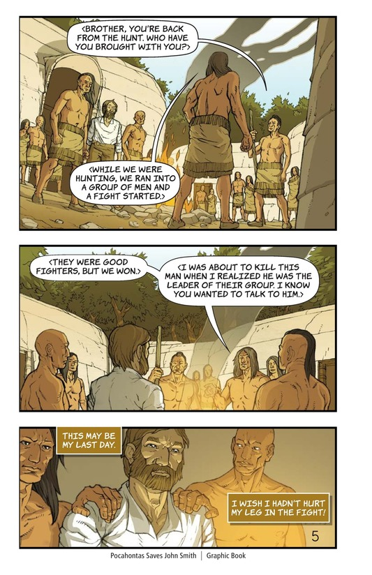 Book Preview For Pocahontas Saves John Smith Page 5
