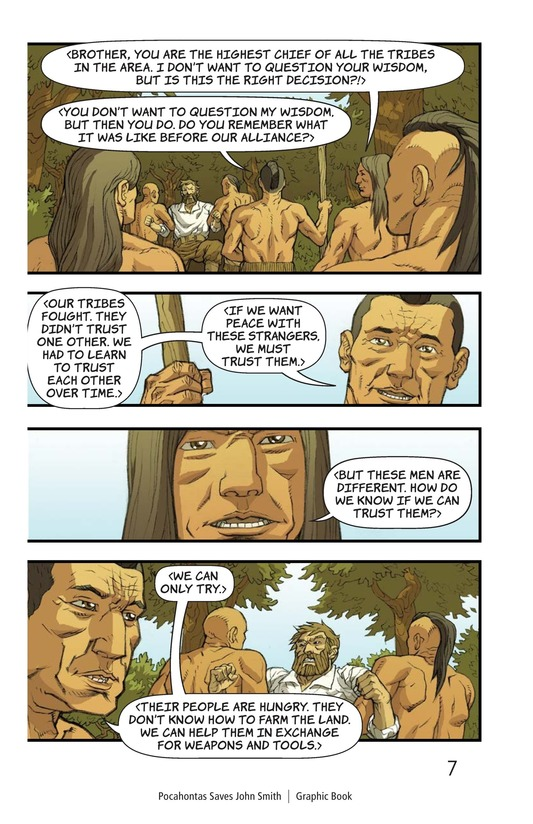 Book Preview For Pocahontas Saves John Smith Page 7