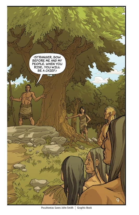 Book Preview For Pocahontas Saves John Smith Page 9