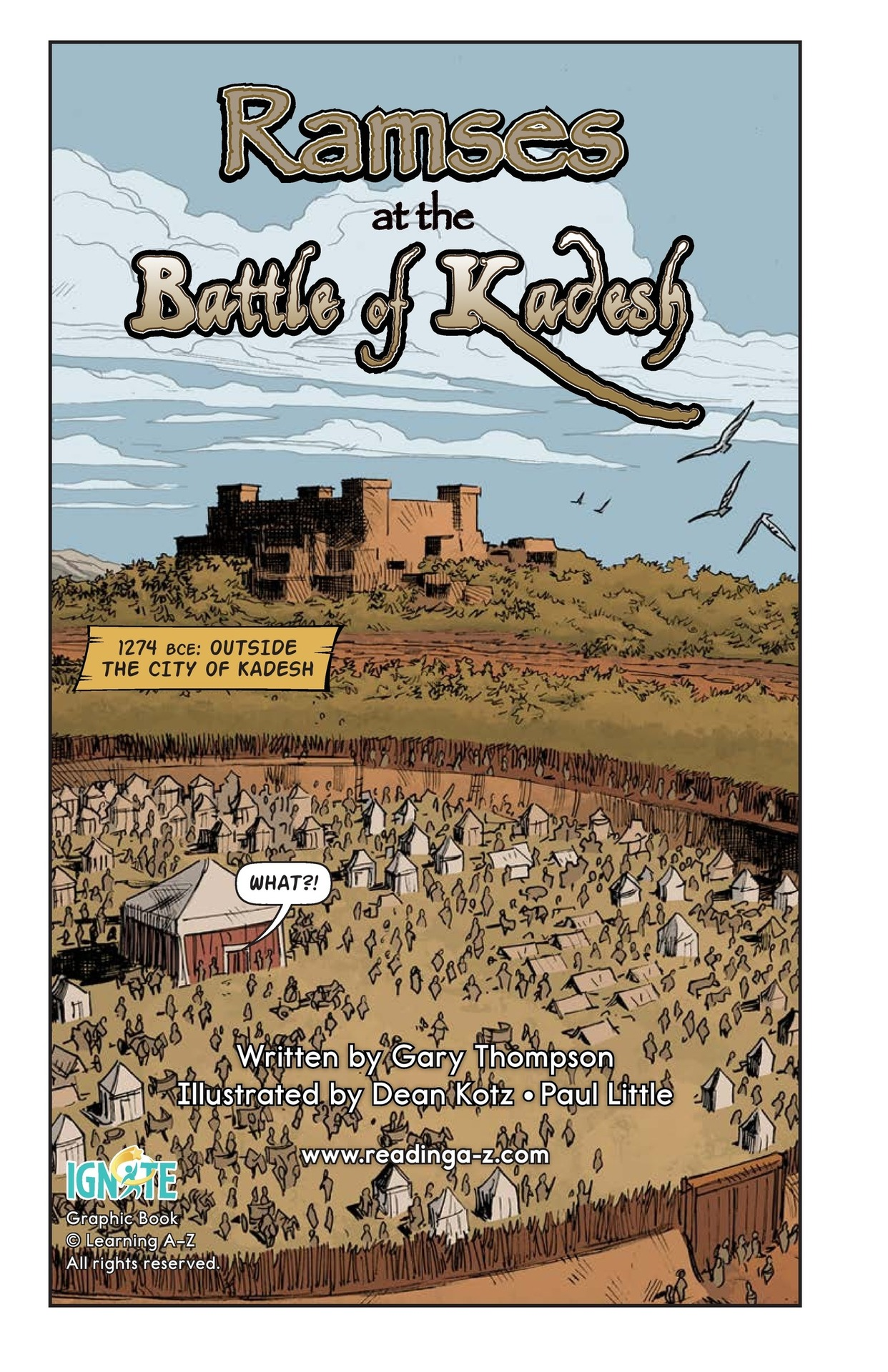 Book Preview For Ramses at the Battle of Kadesh Page 2
