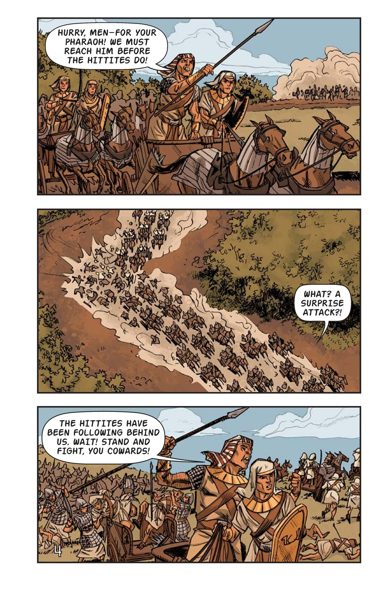 Book Preview For Ramses at the Battle of Kadesh Page 5