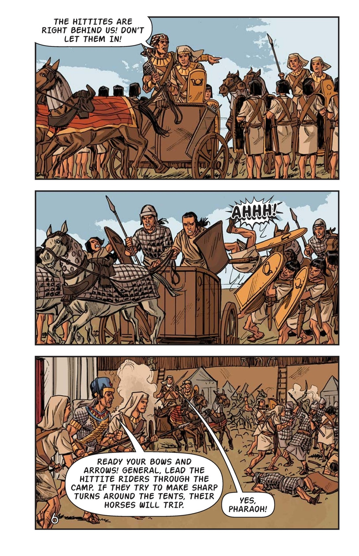 Book Preview For Ramses at the Battle of Kadesh Page 7