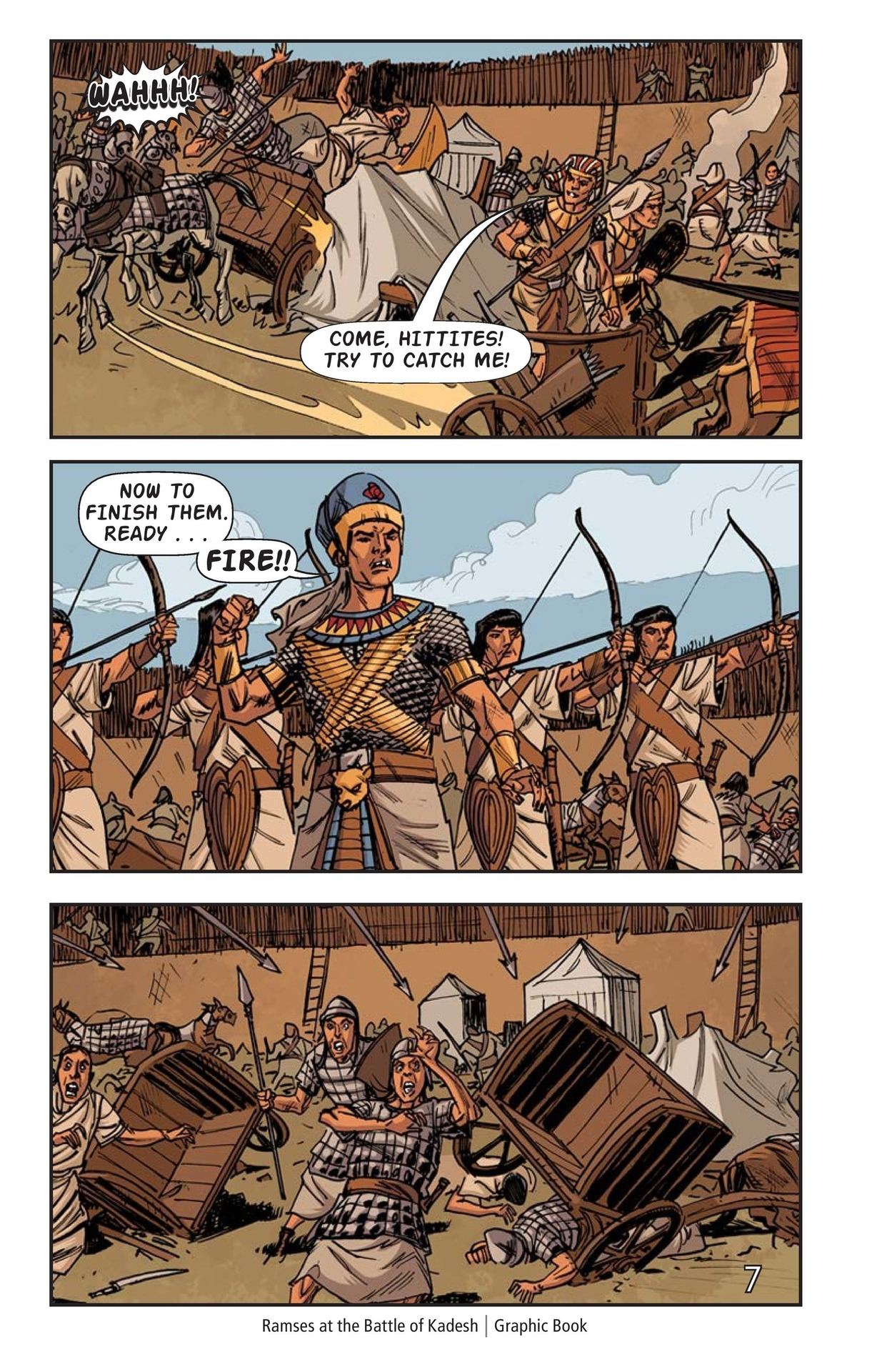 Book Preview For Ramses at the Battle of Kadesh Page 8