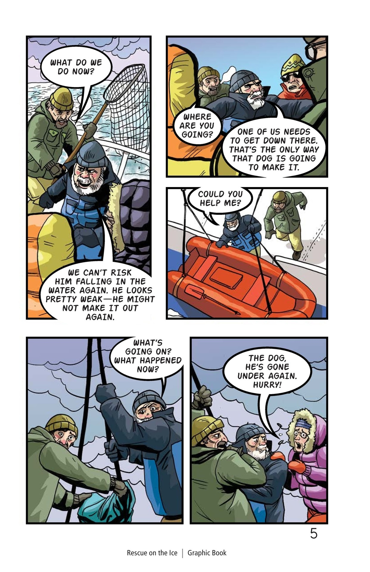 Book Preview For Rescue on the Ice Page 6