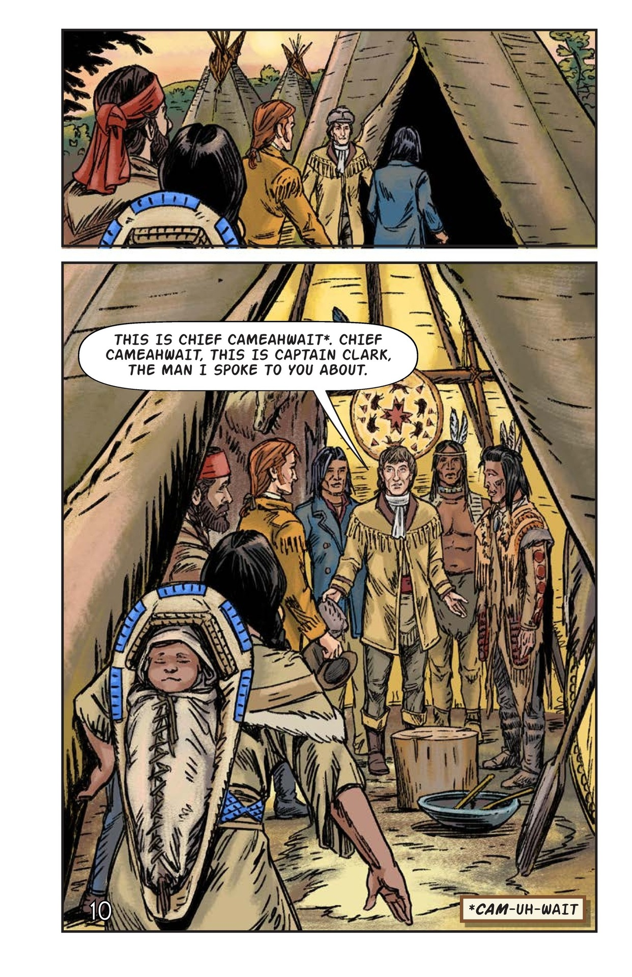 Book Preview For Sacagawea: The Long Road Home Page 11