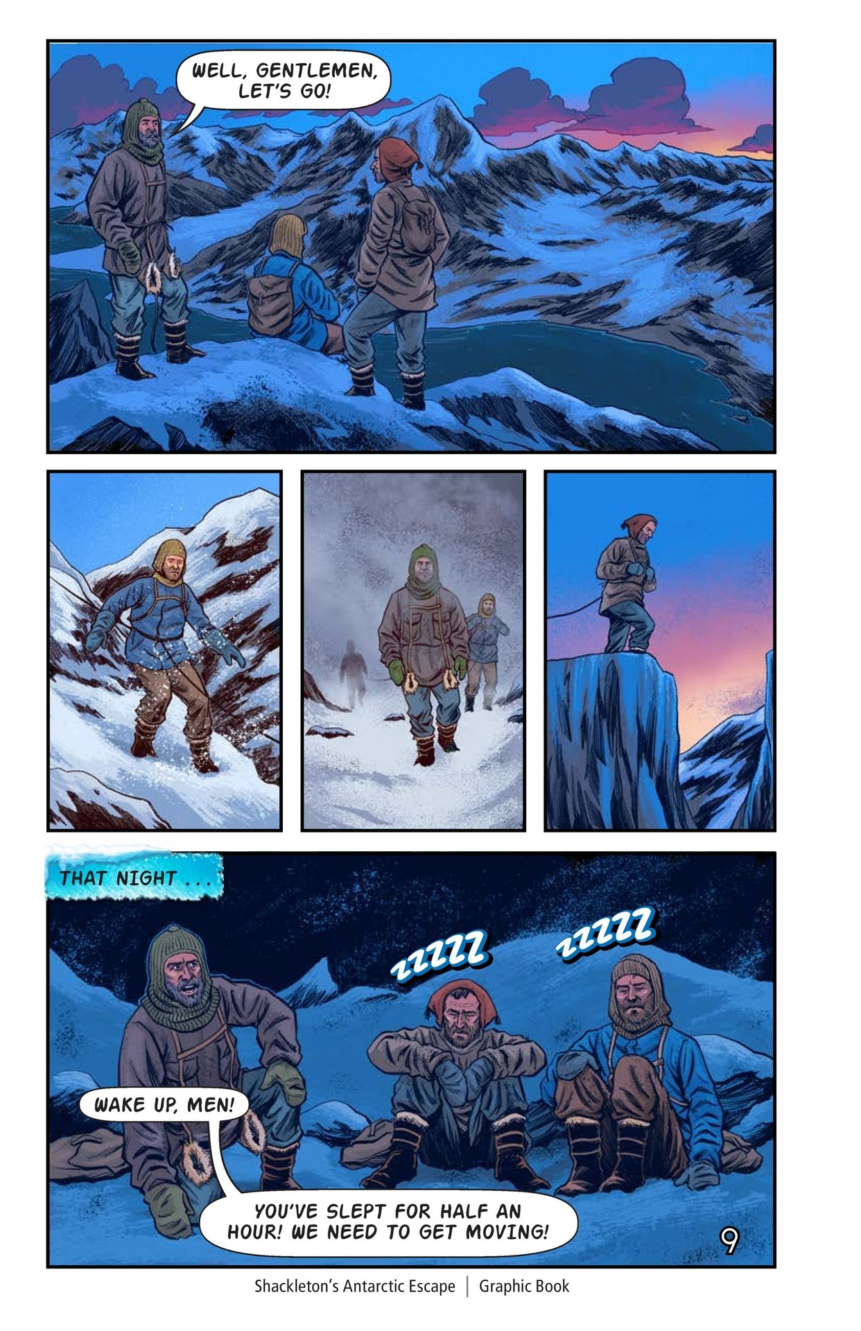 Book Preview For Shackelton's Antarctic Escape Page 10