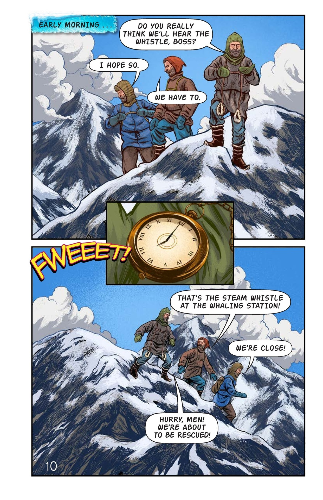 Book Preview For Shackelton's Antarctic Escape Page 11
