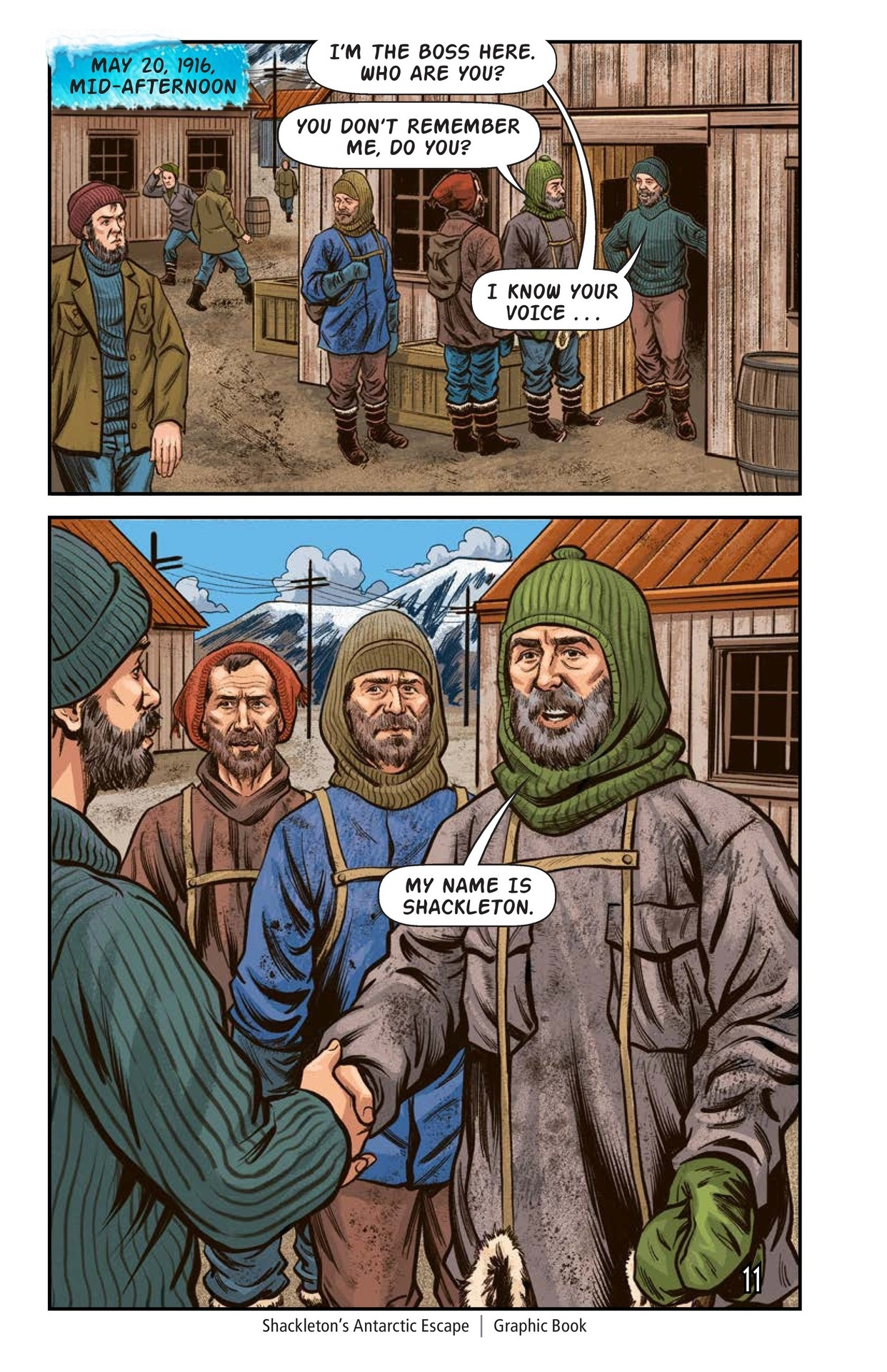 Book Preview For Shackelton's Antarctic Escape Page 12