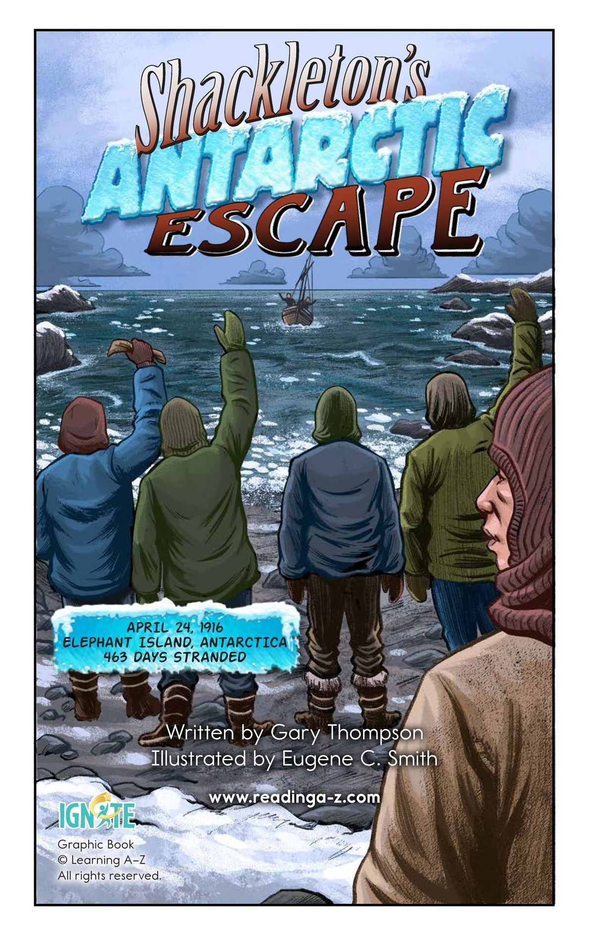 Book Preview For Shackelton's Antarctic Escape Page 2