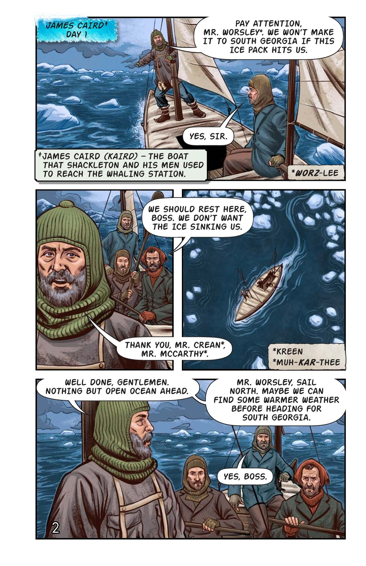 Book Preview For Shackelton's Antarctic Escape Page 3