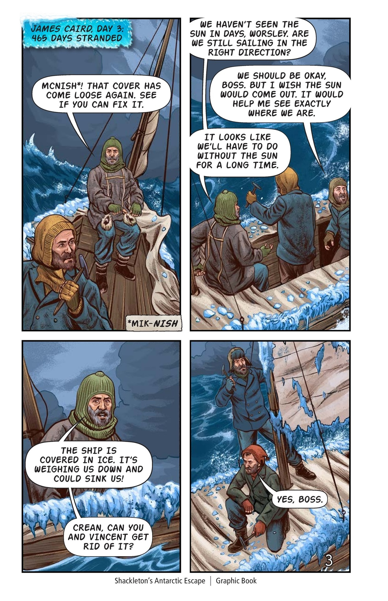 Book Preview For Shackelton's Antarctic Escape Page 4
