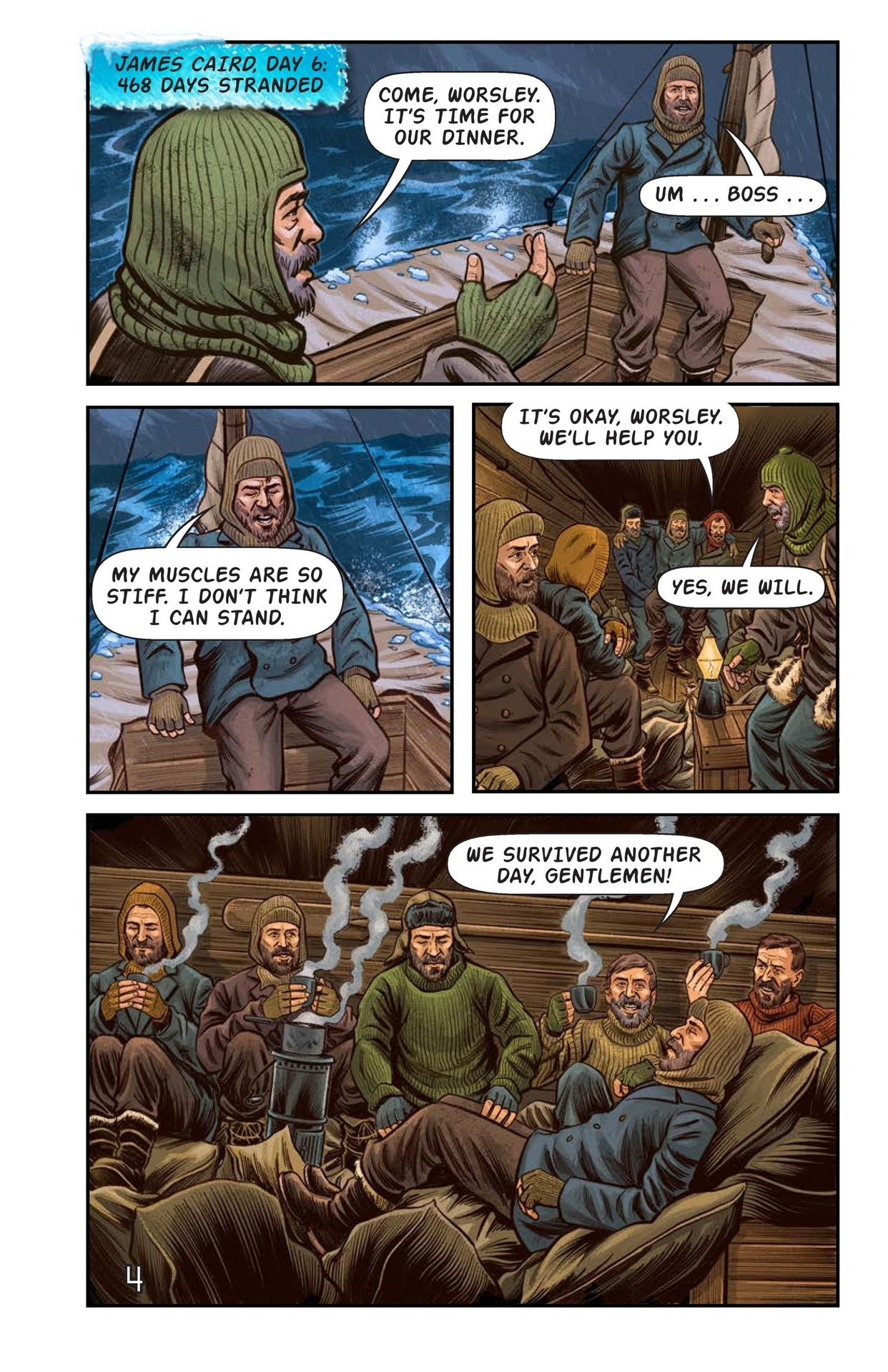 Book Preview For Shackelton's Antarctic Escape Page 5
