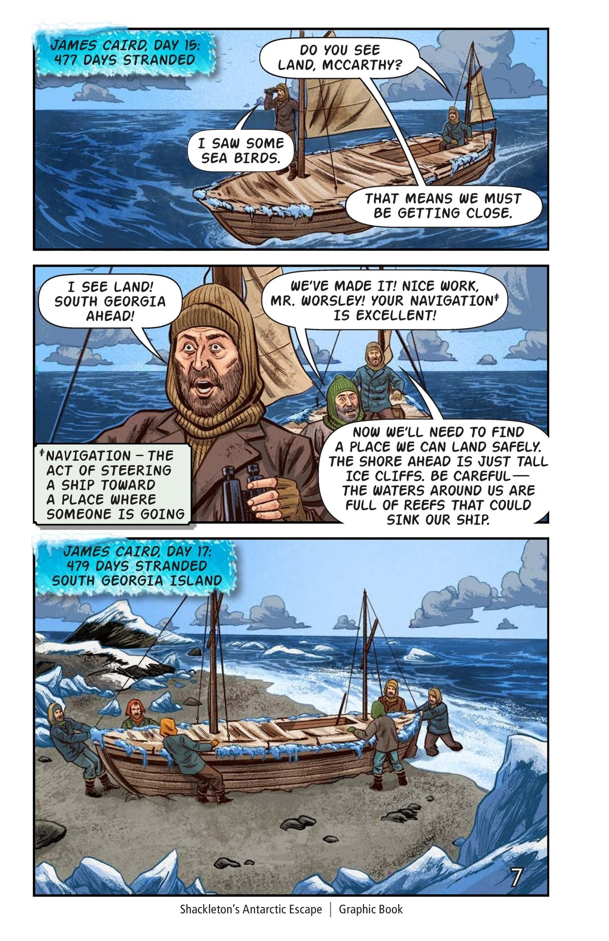 Book Preview For Shackelton's Antarctic Escape Page 8