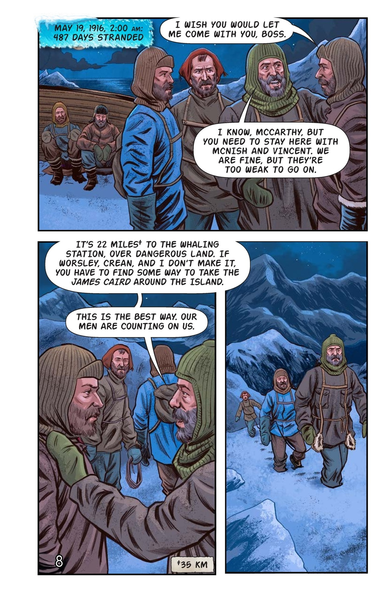 Book Preview For Shackelton's Antarctic Escape Page 9