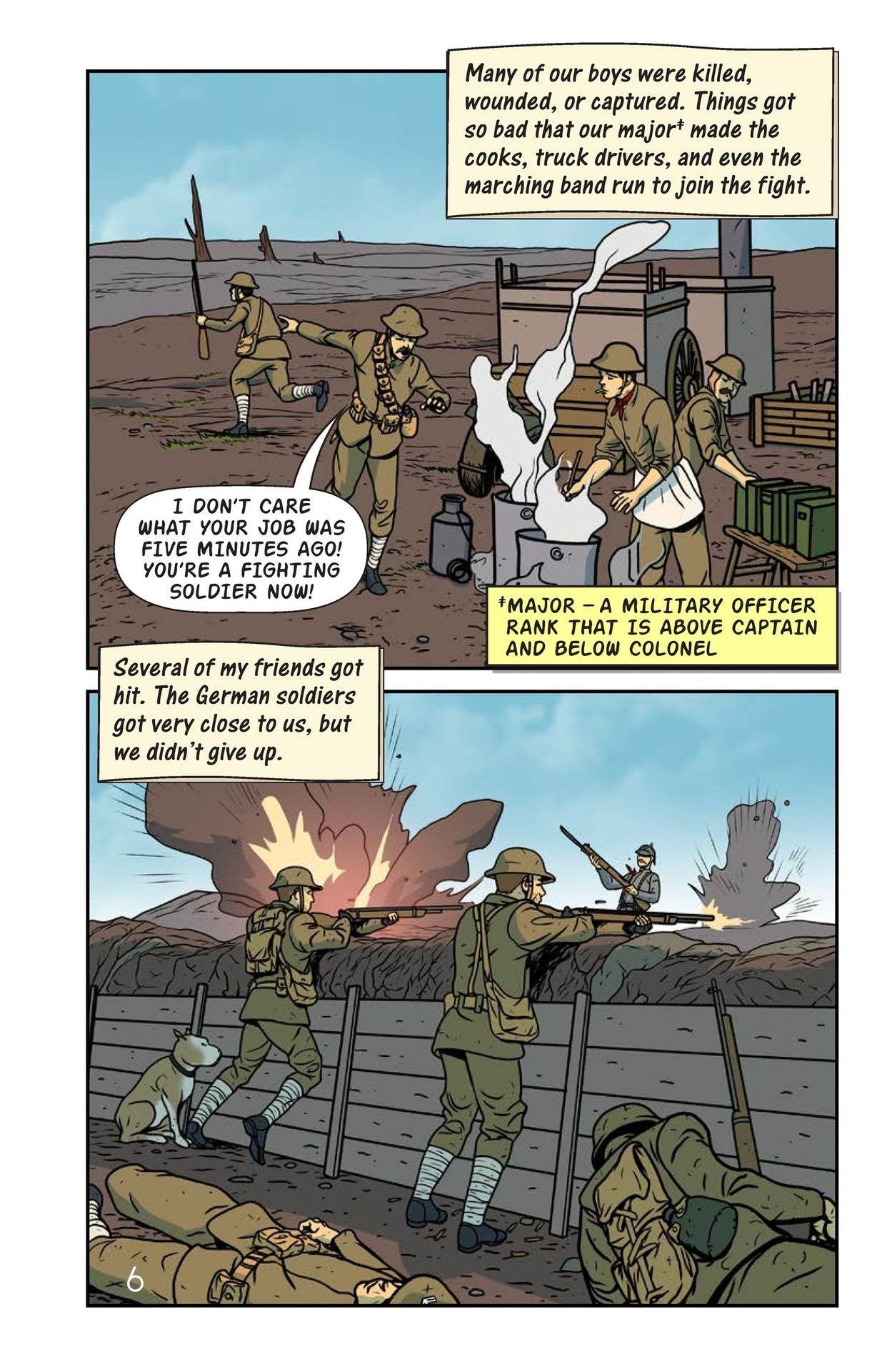 Book Preview For Stubby the Hero Page 7