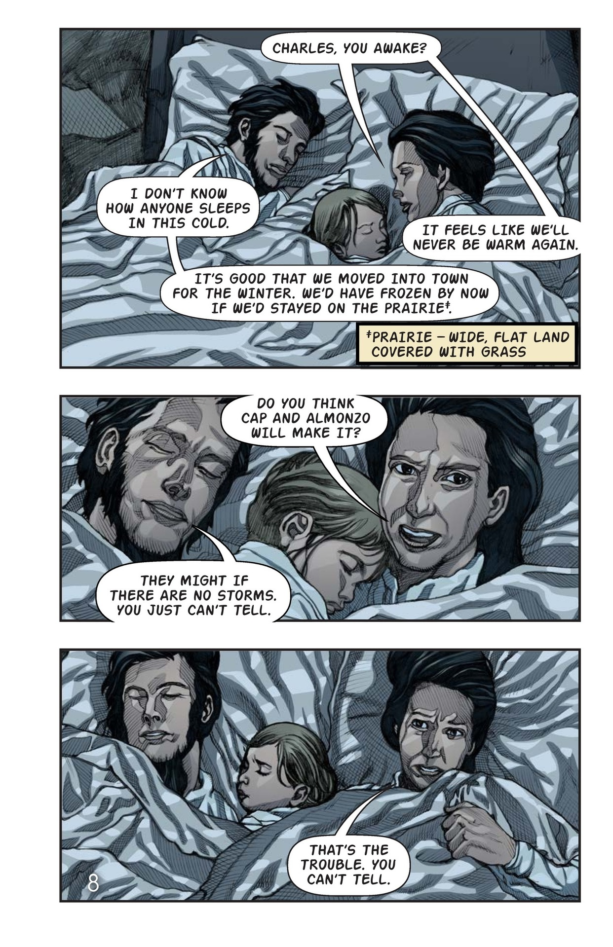 Book Preview For Surviving the Snow Winter Page 9