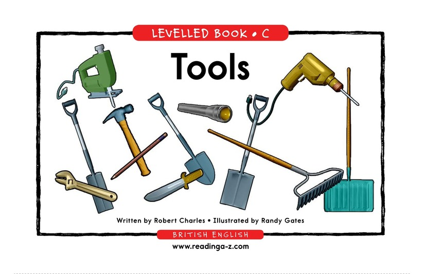 Book Preview For Tools Page 1