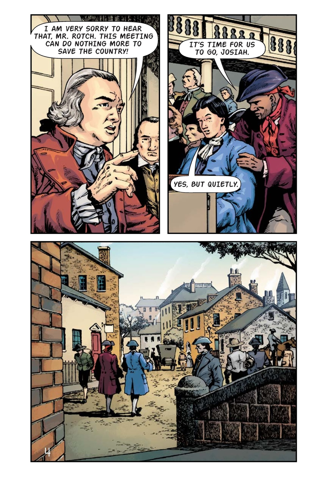 Book Preview For The Boston Tea Party Page 5