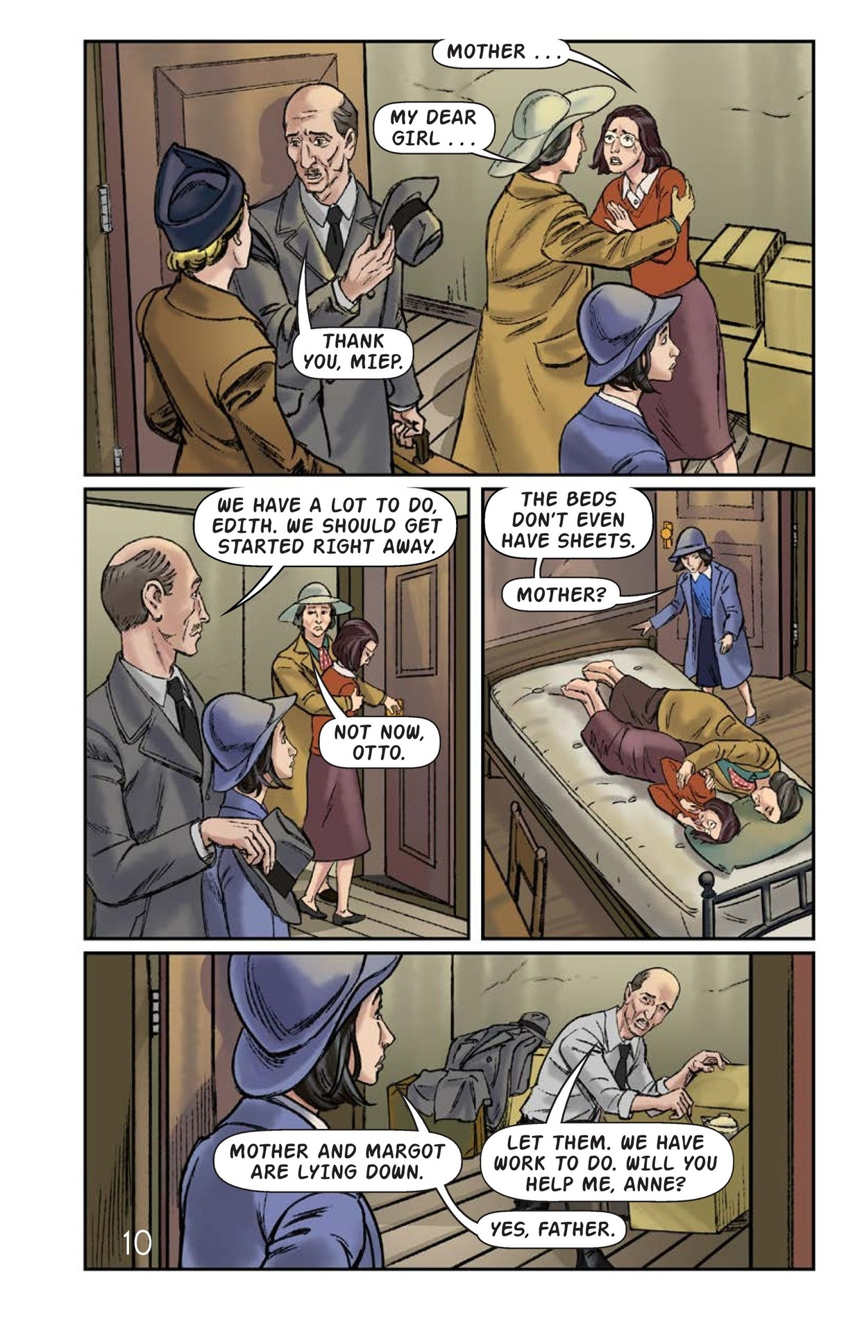 Book Preview For The Frank Family Into the Annex Page 11