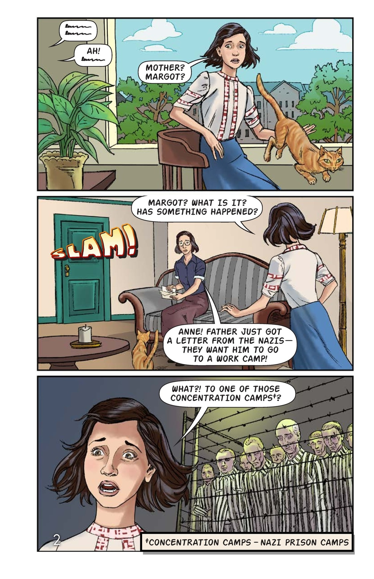 Book Preview For The Frank Family Into the Annex Page 3
