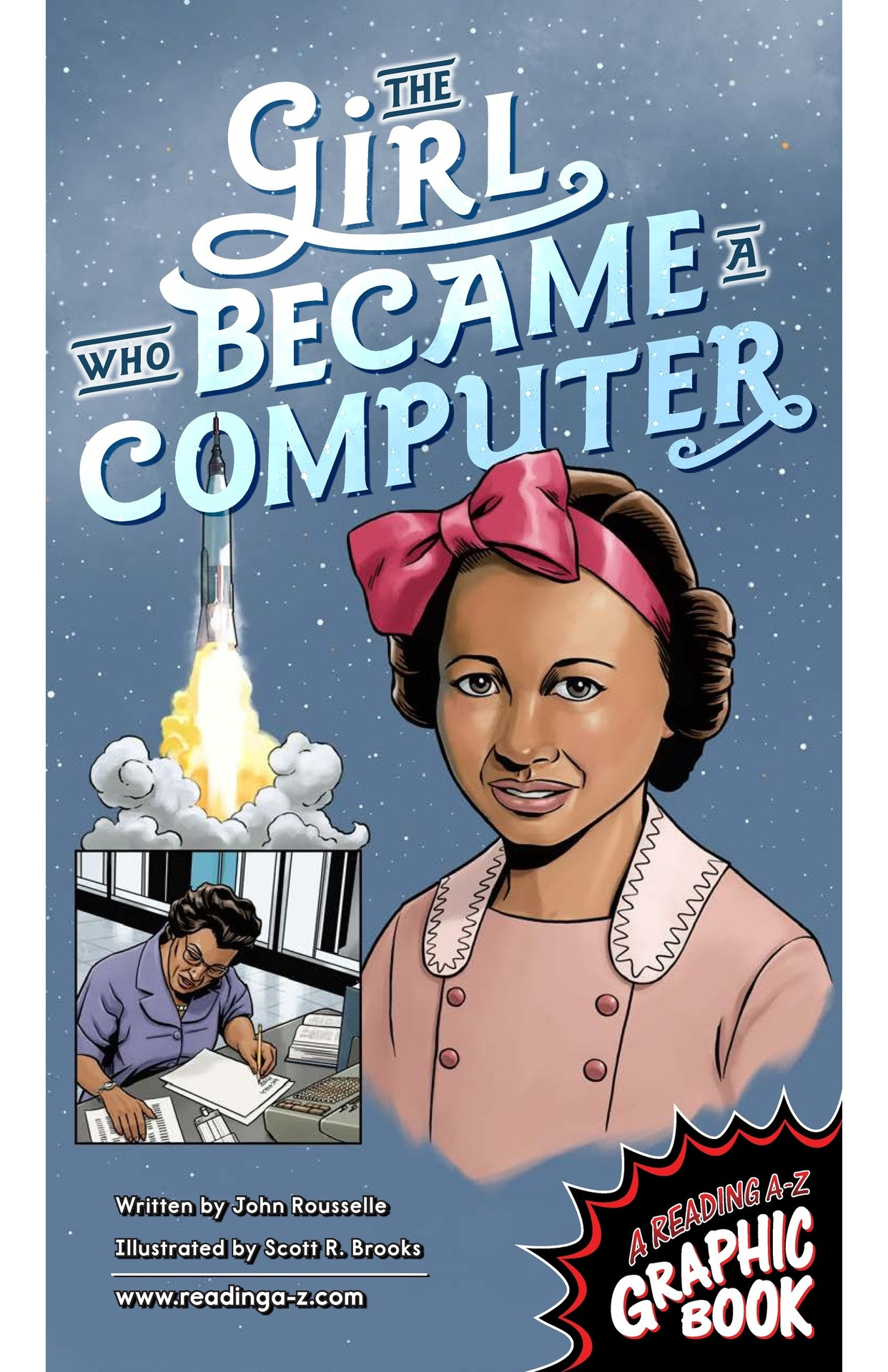Book Preview For The Girl Who Became a Computer Page 1