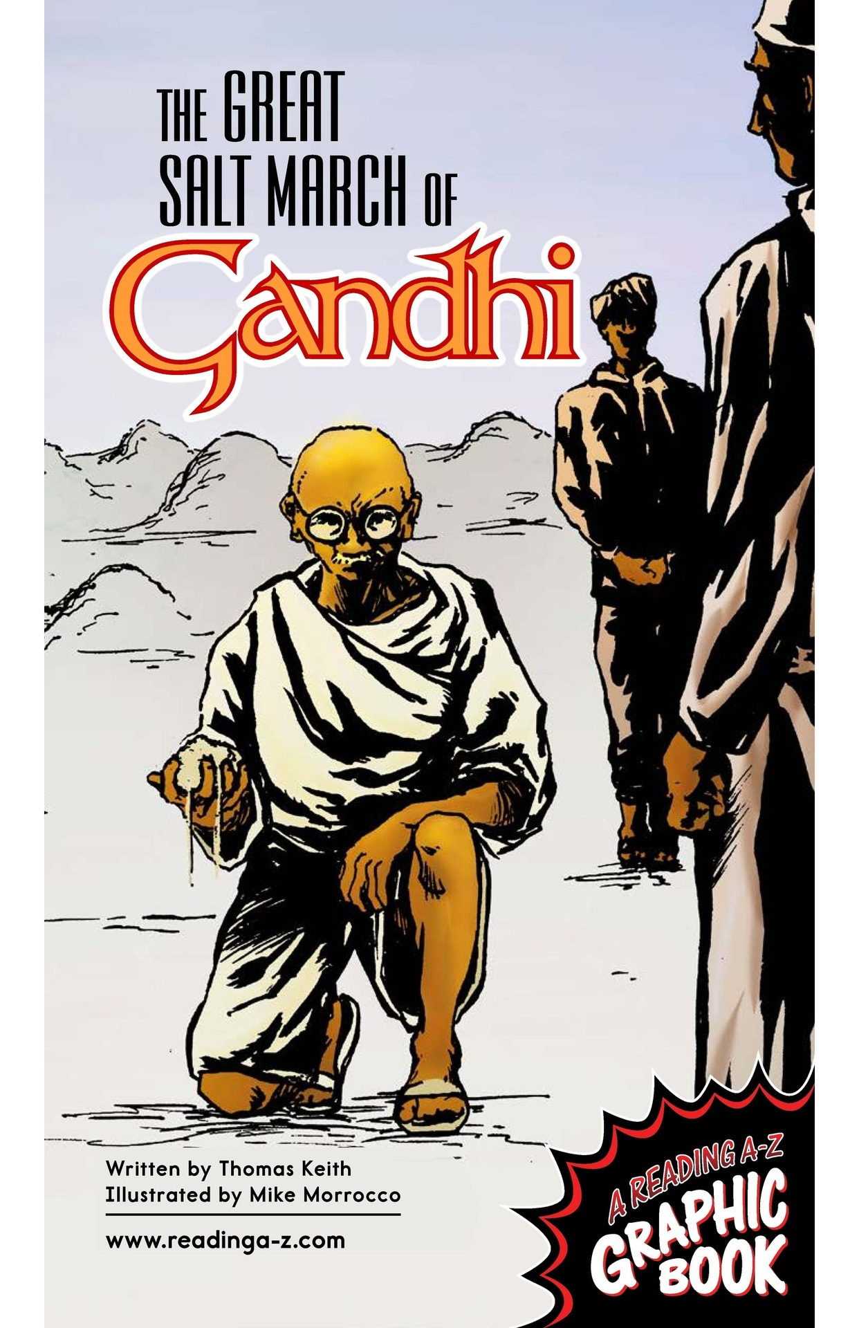 Book Preview For The Great Salt March of Gandhi Page 1