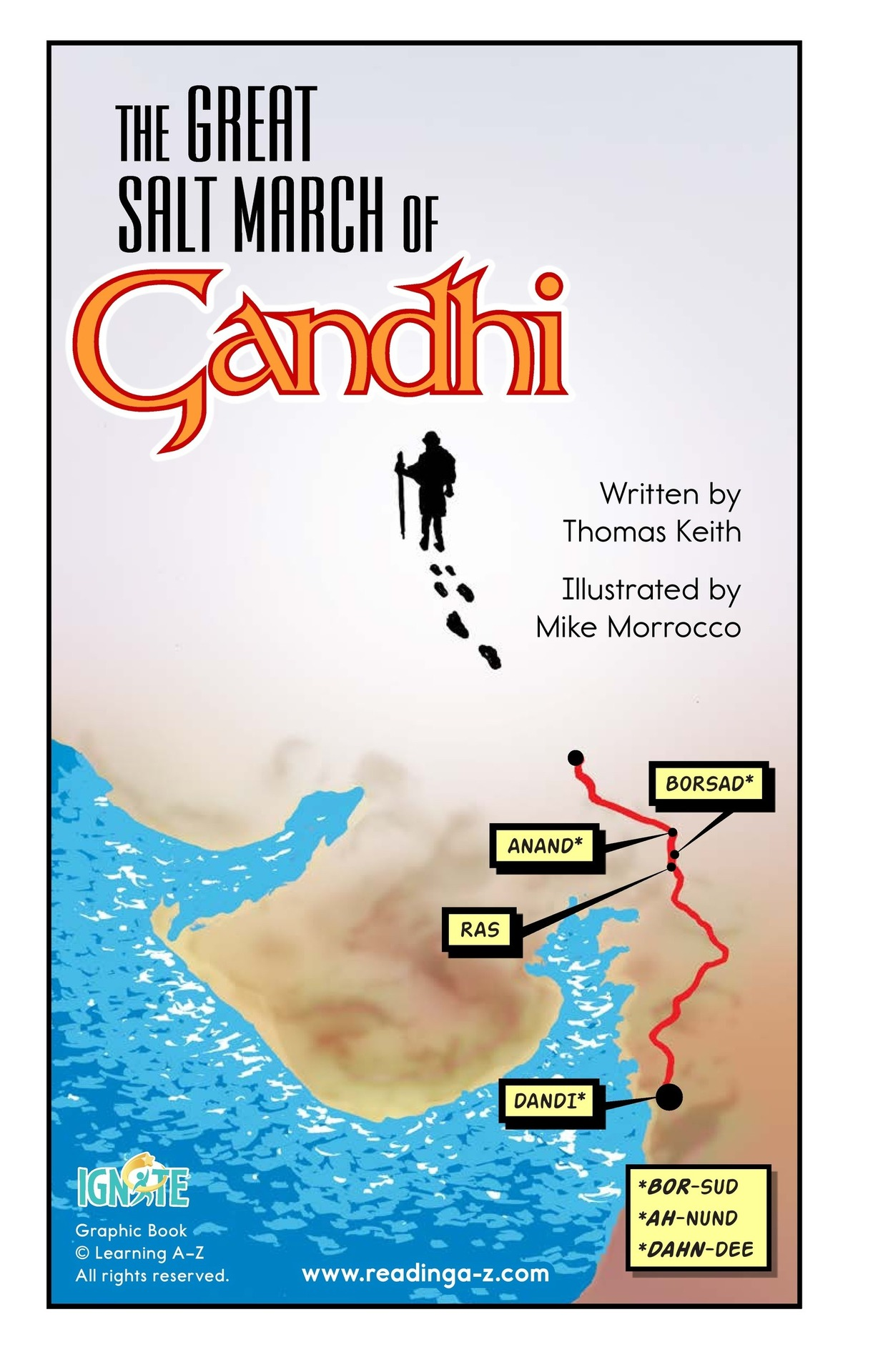 Book Preview For The Great Salt March of Gandhi Page 2