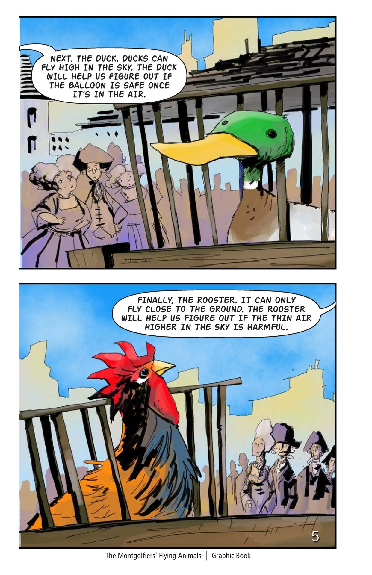 Book Preview For The Montgolfiers' Flying Animals Page 6