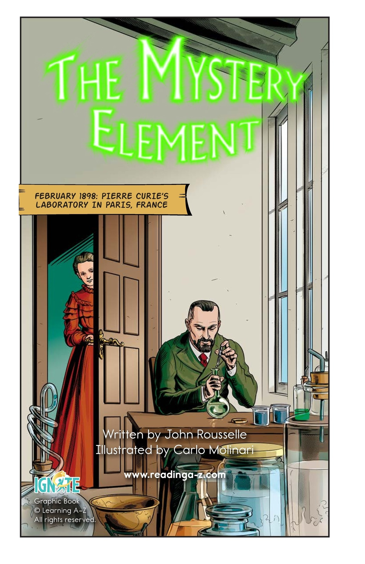Book Preview For The Mystery Element Page 2