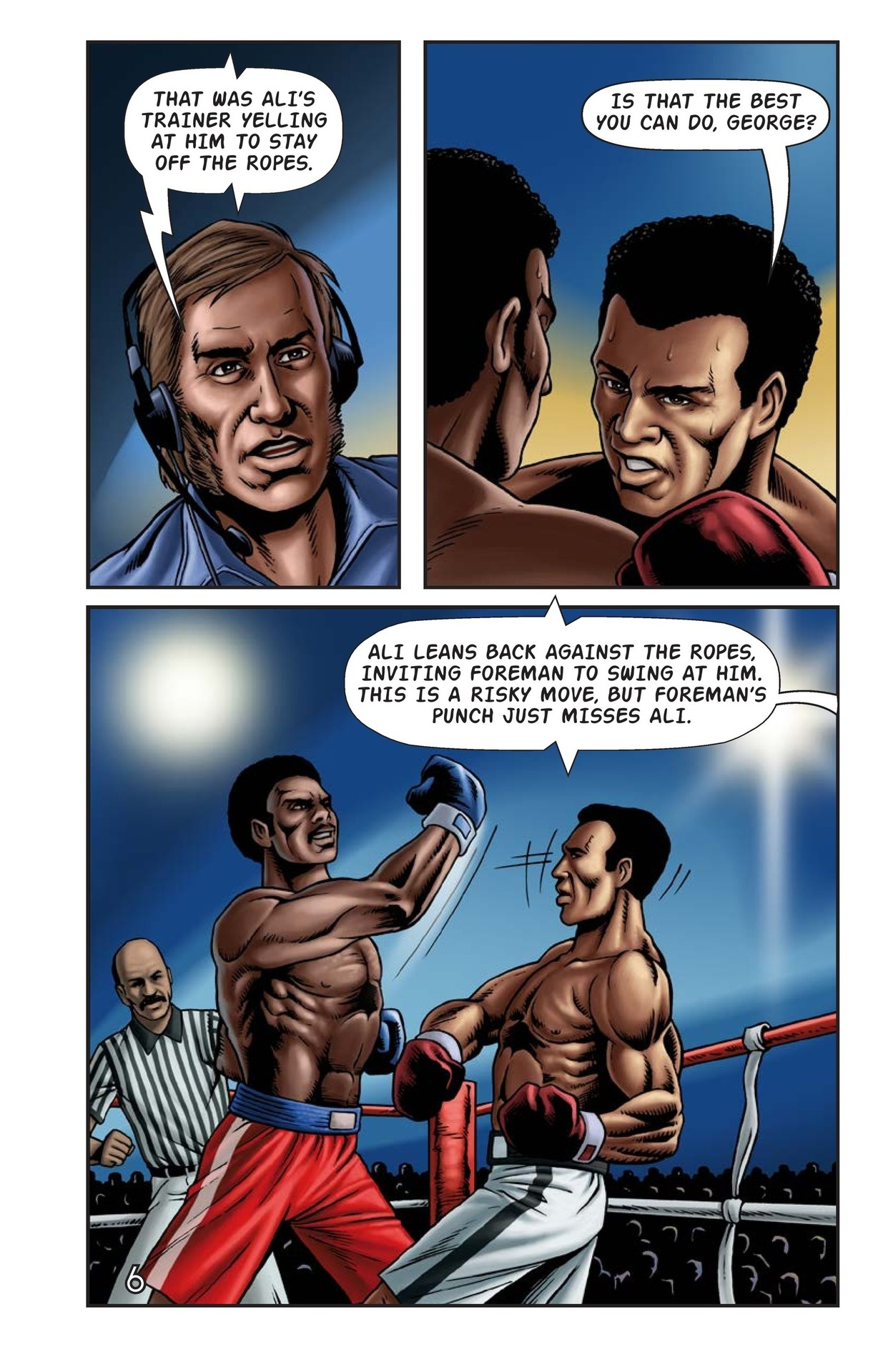Book Preview For The Rumble in the Jungle Page 7