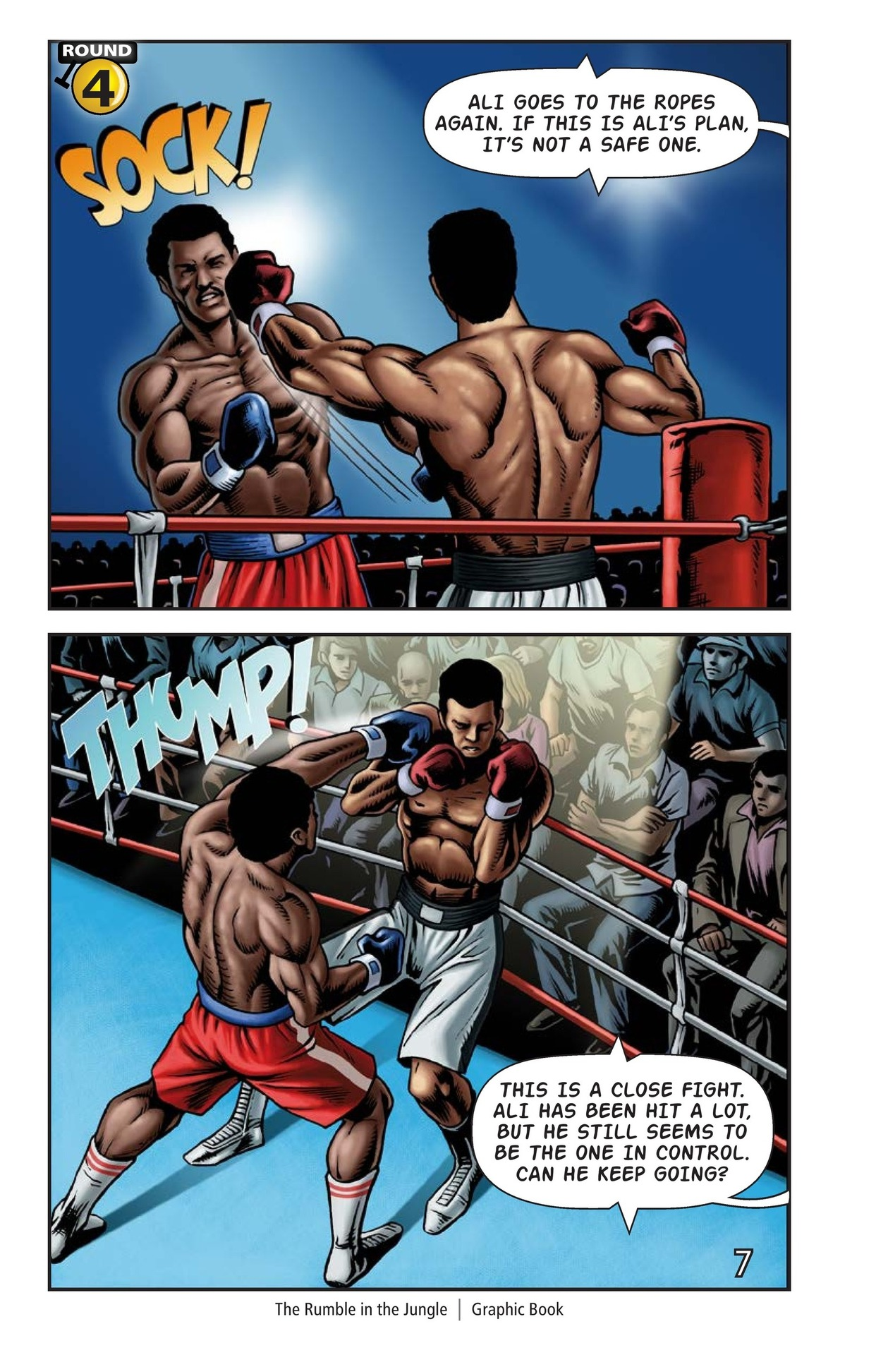 Book Preview For The Rumble in the Jungle Page 8