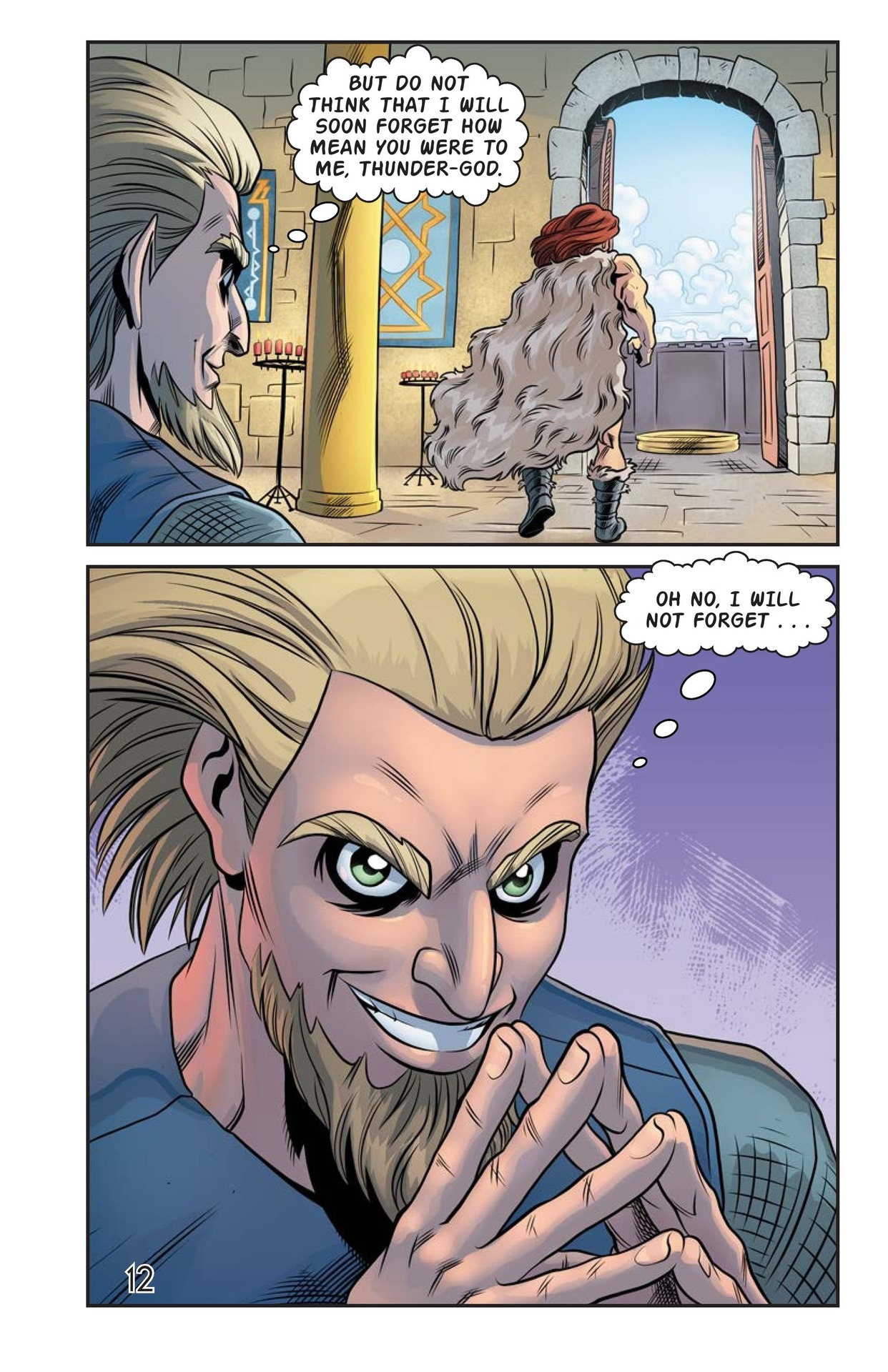 Book Preview For The Stolen Hammer of Thor Page 13