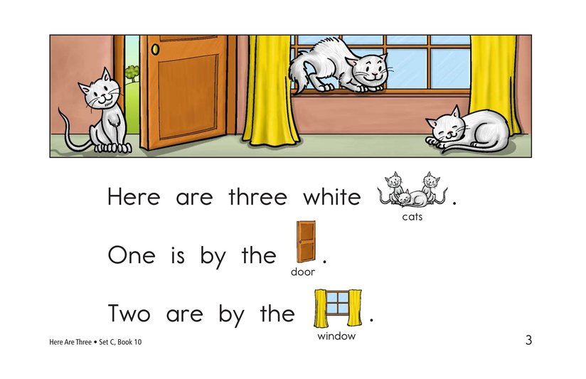Book Preview For Here Are Three Page 3