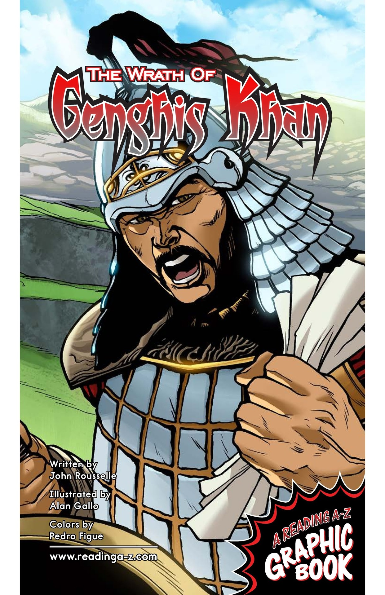 Book Preview For The Wrath of Genghis Khan Page 1