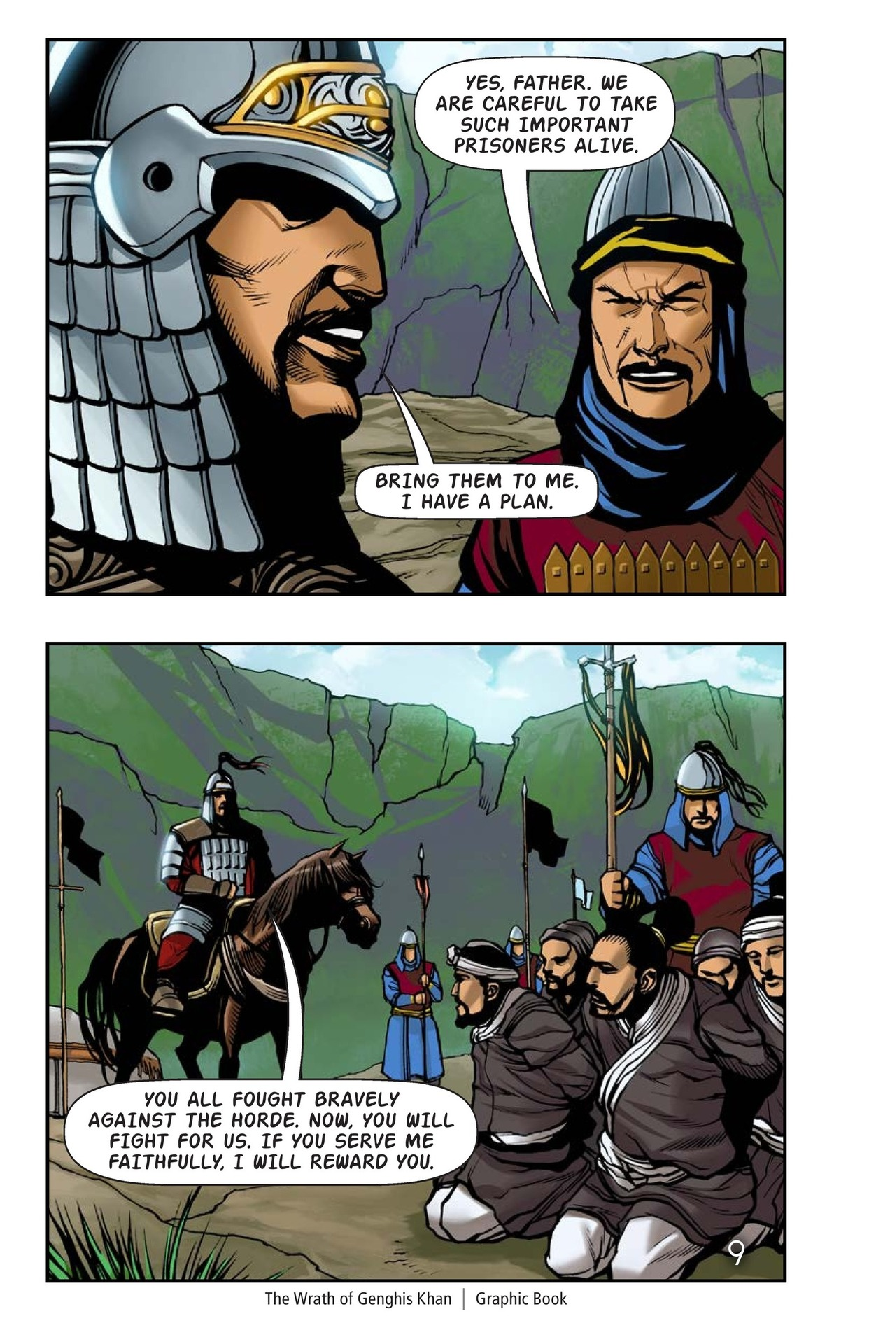 Book Preview For The Wrath of Genghis Khan Page 10