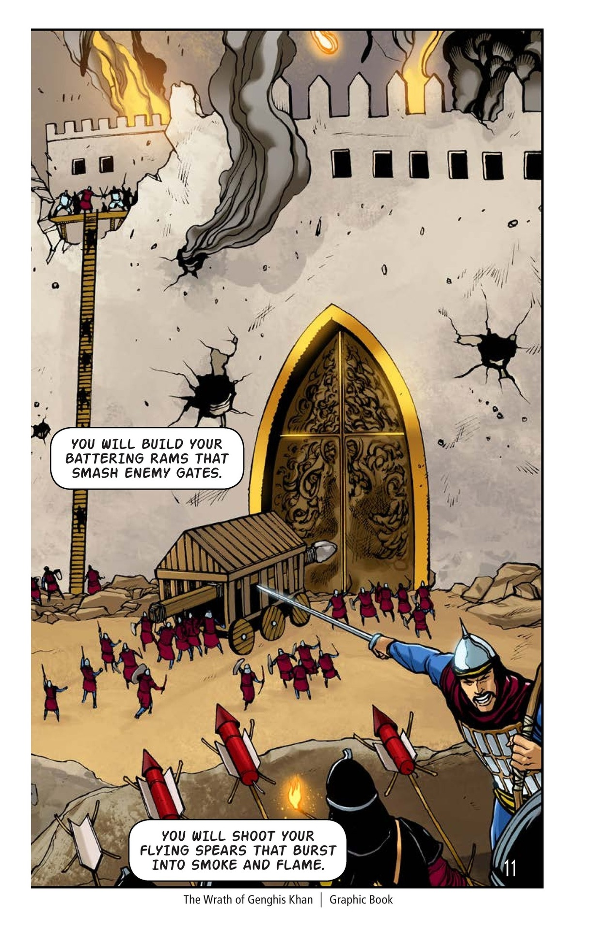 Book Preview For The Wrath of Genghis Khan Page 12