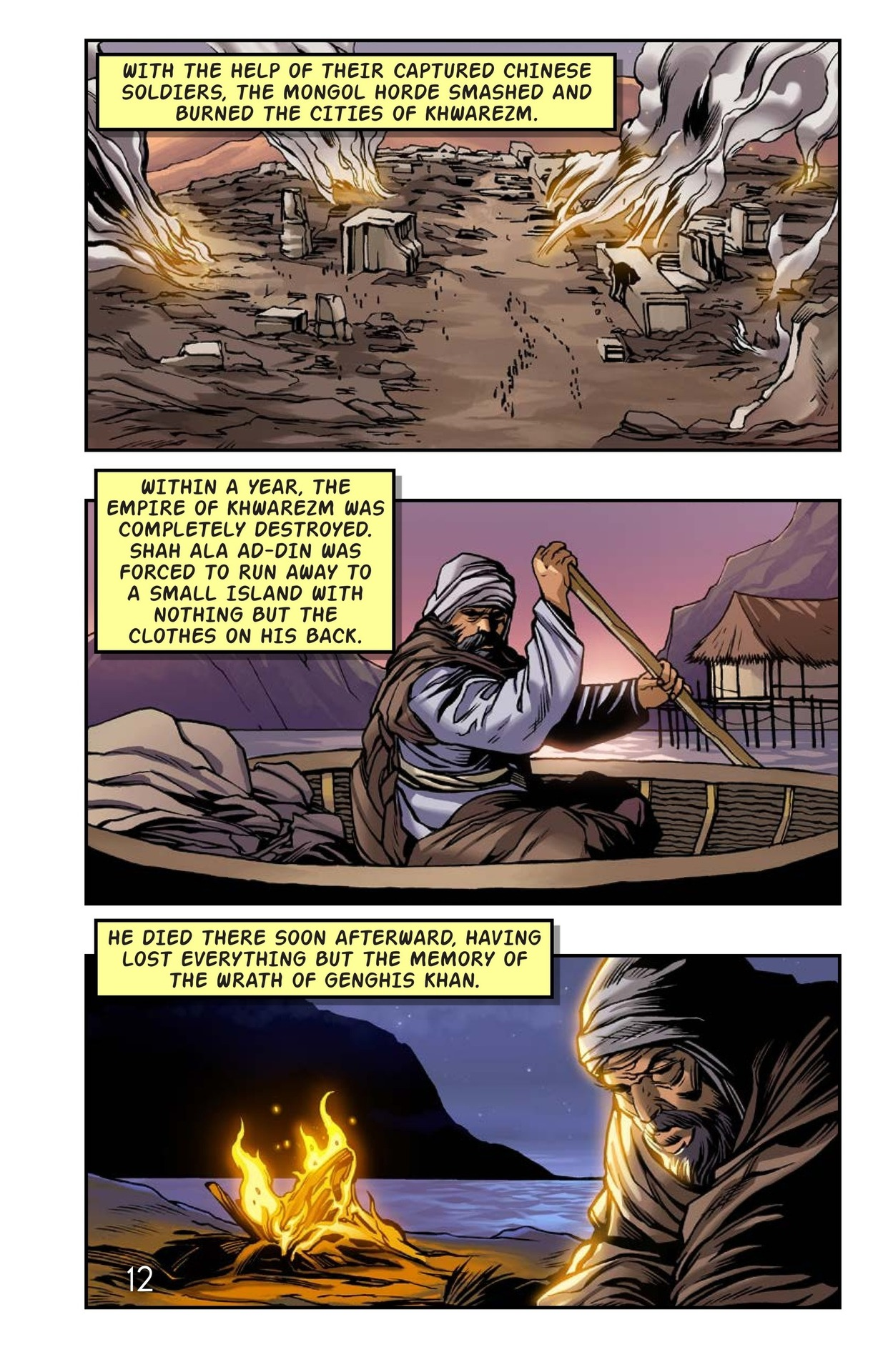 Book Preview For The Wrath of Genghis Khan Page 13