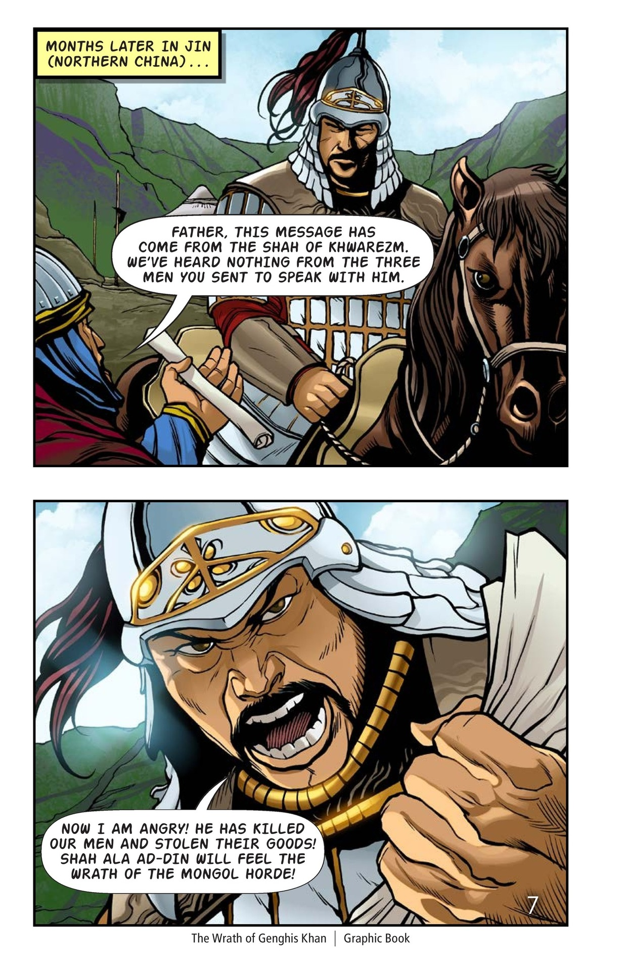 Book Preview For The Wrath of Genghis Khan Page 8