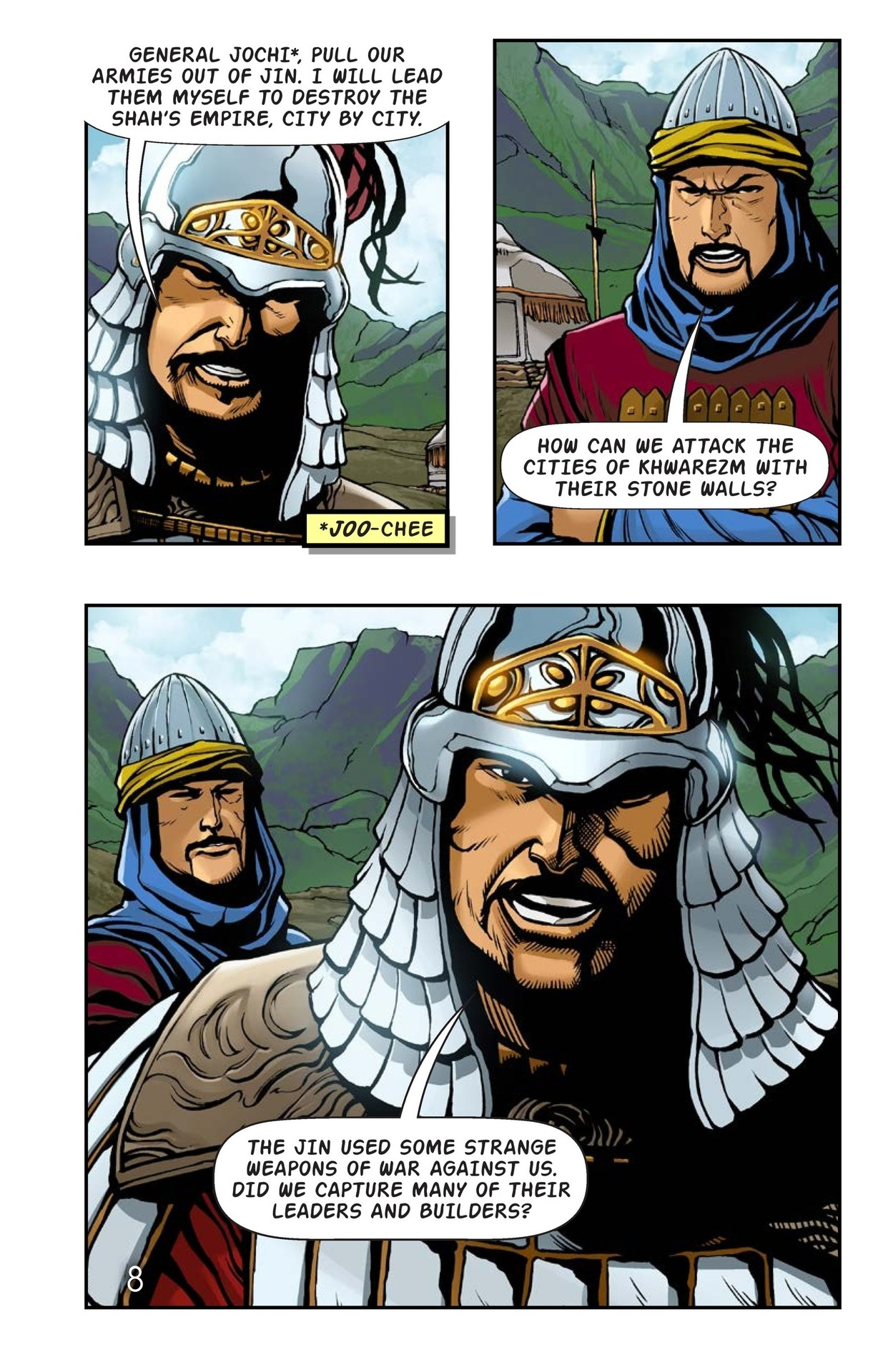 Book Preview For The Wrath of Genghis Khan Page 9