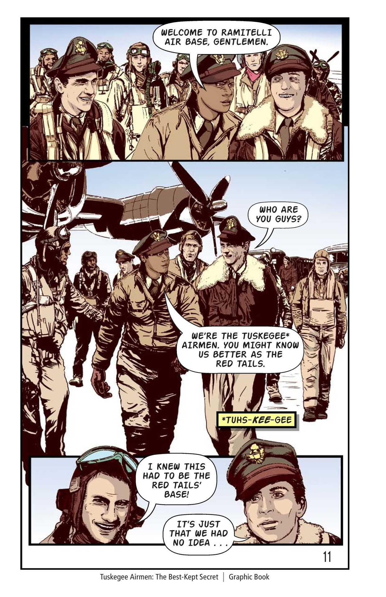 Book Preview For Tuskegee Airmen: The Best-Kept Secret Page 12