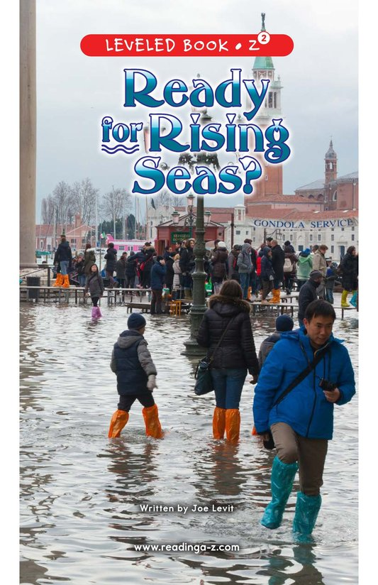 Book Preview For Ready for Rising Seas? Page 0
