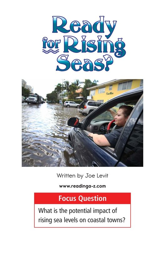 Book Preview For Ready for Rising Seas? Page 1