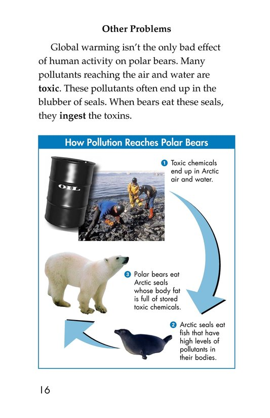 Book Preview For Plight of the Polar Bear Page 10