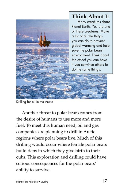 Book Preview For Plight of the Polar Bear Page 11